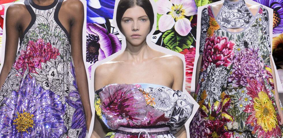 Speciale primavera estate 2018 moda floreale comecosaquando